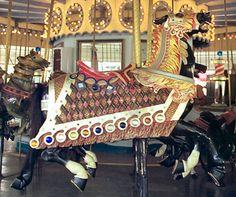 Six Flags New England Carousel