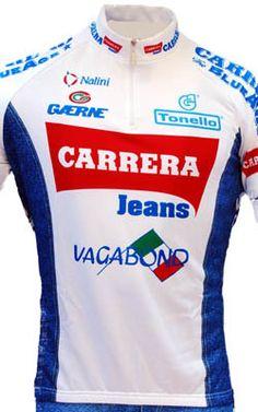 14397836a Carrera White Retro HZ Jersey - procyclegear.com Team Cycling Jerseys