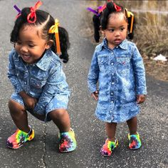 For Kids Fashion Hair Styles Cute Black Babies, Black Baby Girls, Beautiful Black Babies, Cute Baby Girl, Cute Babies, Cute Kids Fashion, Baby Girl Fashion, Toddler Fashion, Fashion Hair
