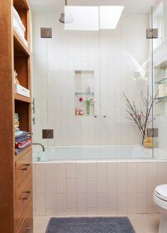 vertical bathroom tiles