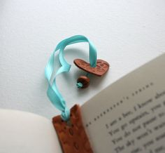Little Leather Bookmarks