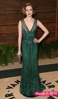 Best-Dressed Celebrity Evan Rachel Wood in Elie Saab