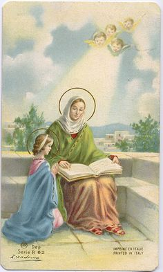 St. Anne   She is my saint <3