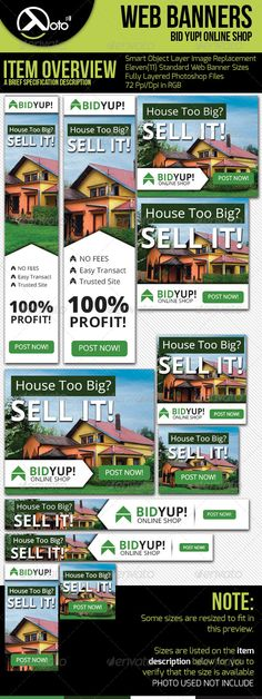Bid Yup Online Shop Web Banners Template PSD | Buy and Download: http://graphicriver.net/item/bid-yup-online-shop-web-banners/6327430?WT.ac=category_thumb&WT.z_author=totopc&ref=ksioks