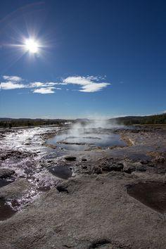 Geysir, Reykjavik Scion, Creative Photos, Beautiful Places, Mountains, Landscape, Nature, Travel, Naturaleza, Viajes