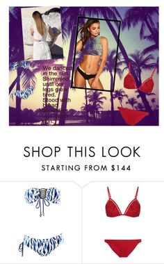 """""""Untitled #1119"""" by jodawkins ❤ liked on Polyvore featuring Zimmermann and Boohoo"""