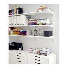 ALEX Laatikosto + pyörät - valkoinen - IKEA