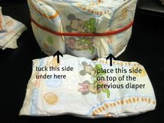 Away She Went: Diaper Cake Tutorial