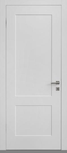 שני פאנלים ישרים - דלתות פנים מעוצבות - דלתות גמליאל