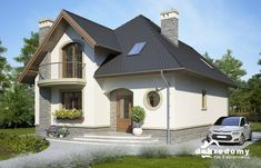 Bella - Dobre Domy Flak & Abramowicz Home Fashion, House Design, Mansions, Architecture, House Styles, Home Decor, Templates, Houses, Projects