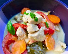 Thai Food Made Easy | Easy Thai Green Chicken Curry
