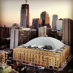 Maple Leaf Gardens Originally used for hockey games but is now a mulit-purpose building. Nutella Cafe, Scarborough Toronto, Hockey Games, Gta, Four Square, Ontario, Purpose, The Past, Gardens