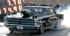 See this Mean 7 Second Pontiac GTO in Action..Re-pin brought to you by agents of #CarInsurance at #HouseofInsurance in Eugene, Oregon.