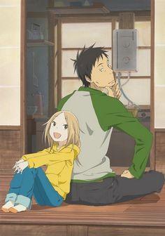 Usagi Drop (Bunny Drop) Consider my heart strings pulled. Daikichi and Rin.