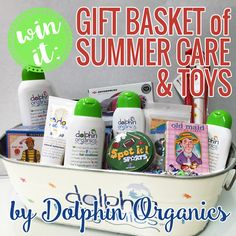 Win It: Gift Basket of Summer Care and Toys by Dolphin Organics » Daily Mom