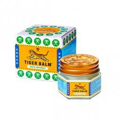 Tiger Balm Blanco efecto frio 12 ml