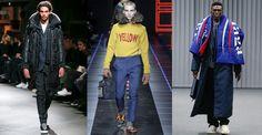 Les 20 tendances mode de la Fashion Week homme automne-hiver 2017-2018