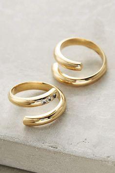 Elizabeth and James Pearce Twist Rings