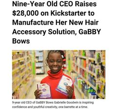 Show this young Queen some love! She is the example for the whole community. Black business is our future! Black Girls Rock, Black Girl Magic, Women In History, African American History, Black History Facts, Black Pride, Black Power, Black People, Black Is Beautiful