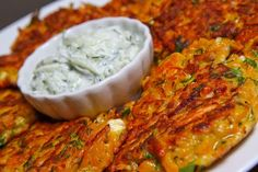 Pumpkin and Feta Fritters How do I make these I want them now!