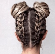 Cool And Must-Have Summer Hairstyles For Women; Must-Have Summer Hairstyles; Summer Hairstyles For Women; Cute Braided Hairstyles, Pretty Hairstyles, Summer Hairstyles For Medium Hair, Wedding Hairstyles, Updo Hairstyle, Bun Hairstyles With Braids, Hairstyle Ideas, Disney Hairstyles, Hair Plaits