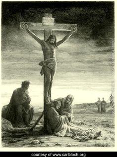 Crucifixion of Christ - Carl Heinrich Bloch - www.carlbloch.org