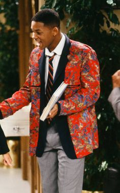 7b6c789943a159 Florals 101 from Will Smith s Craziest Looks on The Fresh Prince of Bel-Air
