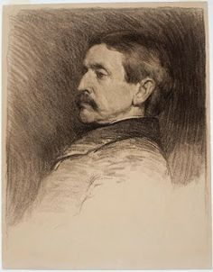 John White Alexander (7 October 1856 – 31 May 1915). He was an American portrait, figure,decorative painter and illustrator.