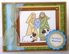 WT143 Baby Jesus by MichelleRedman - Cards and Paper Crafts at Splitcoaststampers