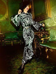Gigi Hadid by Mario Testino for Vogue Paris November 2016 - Dior Couture