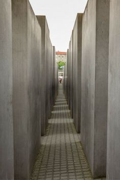 Memorial to the Murdered Jews of Europe (Denkmal für die ermordeten Juden Europas) in Berlin, Germany.
