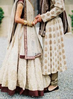 22 Ideas Indian Bridal Couple Outfit For 2019 Asian Wedding Dress, Indian Wedding Ceremony, Desi Wedding, Indian Wedding Outfits, Indian Outfits, Indian Weddings, Bride Indian, Tan Wedding, Punjabi Wedding