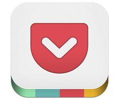 20 stunning iPhone app icons | App design | Creative Bloq | Pocket
