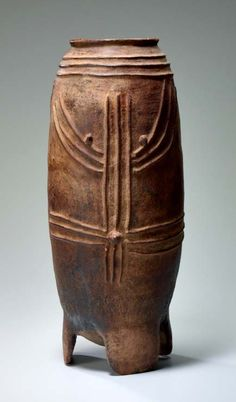 "Africa | Storage Vessel (""Sim-baoore"") from the Kurumba peoples of Burkina Faso 