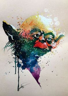 Yoda• Star Wars Series • A3 • 11.7 X 16.5 INCHES • ORIGINAL