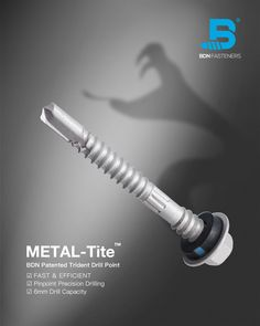 BDN Patented Trident Drill Point The patented Trident Drill Point provides fast and steady drill performance, effectively clears swarf, and drills through 6mm thick steel. Steel Trusses, Roof Trusses, Roofing Screws, Roof Cladding, Precision Drilling, Thermal Expansion, Steel Sheet, Trident