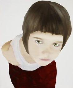 red - child - painting - Katinka Lampe