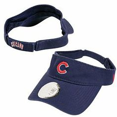 Chicago Cubs Dugout Visor by New Era. $16.95. Officially licensed by MLB. 100% cotton is easy to wash, easy to wear. Pull and stick strap easily adjusts to fit most anyone. Shade your eyes and show your loyalty with this cool, garment-washed cotton Chicago Cubs Visor. Features raised embroidered team logo on front and embroidered team name on back.