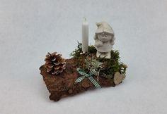 """Winter - Tischgesteck/ Gesteck """"kleiner Wichtel"""" - ein Designerstück von My-Sweet-Bambiente bei DaWanda"""