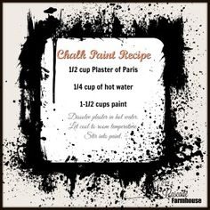 Save money and make your own chalk paint recipe with just three ingredients. Get the recipe and great chalk painting tips at the cascade farmhouse. See the transformation of ugly outdated kitchen cabinets with this very recipe. Make Chalk Paint, Plaster Of Paris, Color Pallets, Painting Tips, Homemade, Recipes, Blog, Farmhouse, Color Palettes