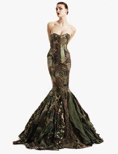 Military Dress : 28 army jackets recycled-dress-03