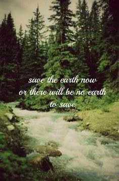 The Earth will be here until it's swallowed by the sun.  It's humanity that needs saving.  We can't live healthy lives in our own garbage.