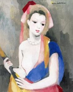 Girl with a Guitar - Marie Laurencin - The Athenaeum