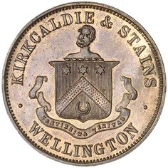GILMOUR, John, New Plymouth penny, undated (A.143); Hurley, J & Co., Wanganui halfpenny, undated (A.277), Mason, Struthers & Co., Christchurch… / MAD on Collections - Browse and find over 10,000 categories of collectables from around the world - antiques, stamps, coins, memorabilia, art, bottles, jewellery, furniture, medals, toys and more at madoncollections.com. Free to view - Free to Register - Visit today. #Coins #Tokens #MADonCollections #MADonC