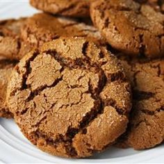 """Mom's Ginger Snaps 