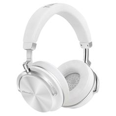 b80a9f80907 Bluedio T4S Noise Cancelling Wireless Bluetooth 4.2 Headphone Mic Headset/White  #Bluedio
