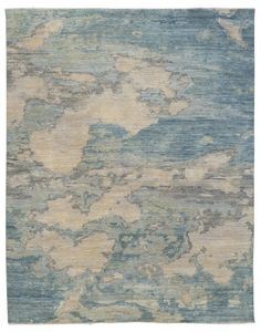 Luke Irwin | Clouds – Autumn  Each rug is hand knotted to order and is available in any size or colour. The rugs can be made in wool, silk and cashmere.  •    Clouds – Autumn # 1  Size: 2.43m x 3.05m  Composition: 100% Wool