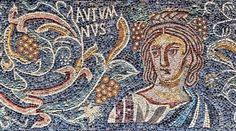 Mosaico Romano, Alegoría del Otoño - Autumnus - Villa Romana de las Tiendas, provincia de Badajoz