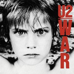 War by U2 (1983) - I love how the photographer has arranged the lighting on the portrait's face to remove all the shadows from their face. I also like the use of the bright red font as again it helps to draw your attention straight to the album title and artist name.