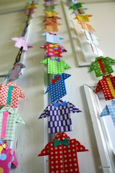 Makes a good Fathers day gift. Really cute origami shirt and tie. Origami Simple, Kids Origami, Origami Paper, Crafts For Teens, Hobbies And Crafts, Diy And Crafts, Paper Crafts, Fathers Day Banner, Fathers Day Crafts